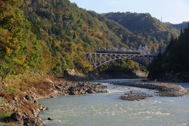 只見線 C11325 第一只見川橋梁