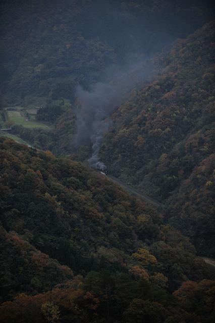 山口線 C571 奥白井・古尾谷俯瞰
