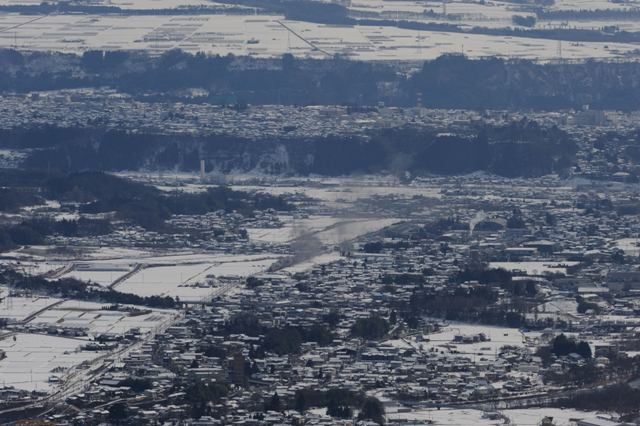 上越線 C6120 大峰山俯瞰