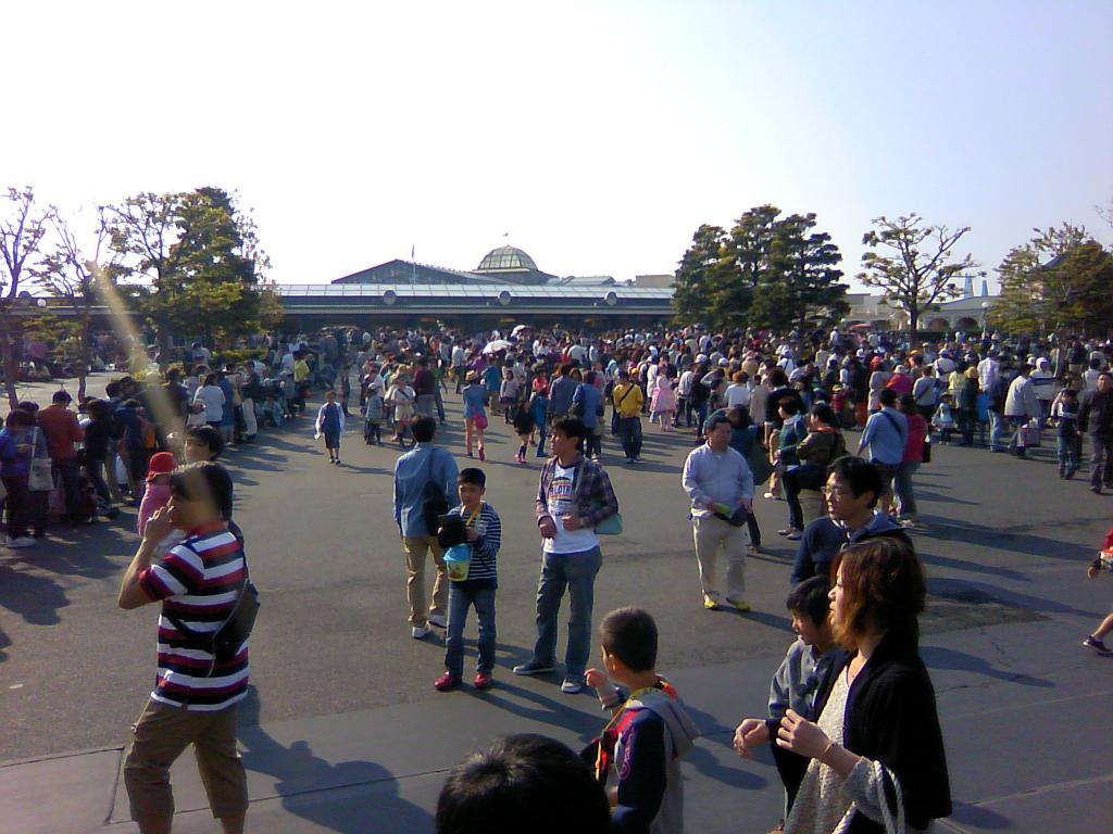 good omen for atsushi 東京ディズニーランドレポート20130506。