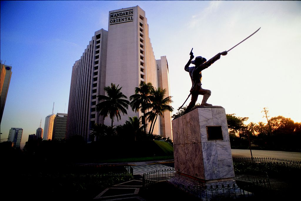 MANDALIN ORIENTAL HOTEL MANILA