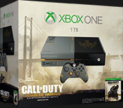 Xbox One (コール オブ デューティ アドバンスド・ウォーフェア リミテッド エディション) (5C7-00017) (『コール オブ デューティ アドバンスド・ウォーフェア』カスタム デザイン ワイヤレス コントローラー同梱)