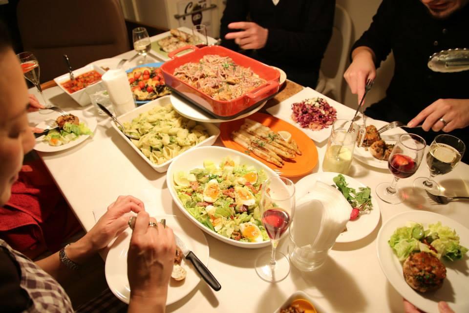日曜日の食卓