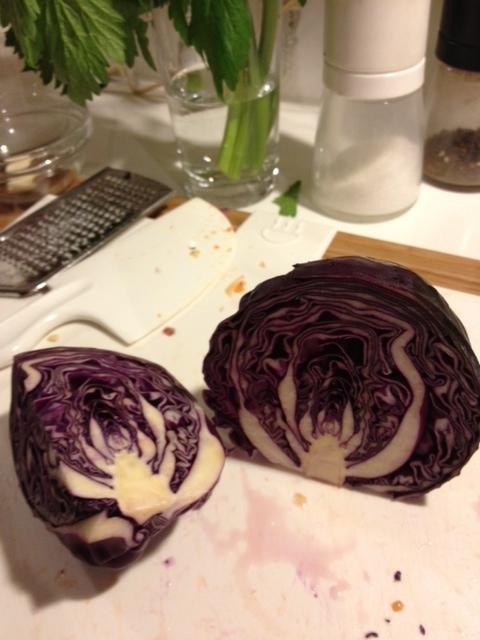 紫キャバツカット