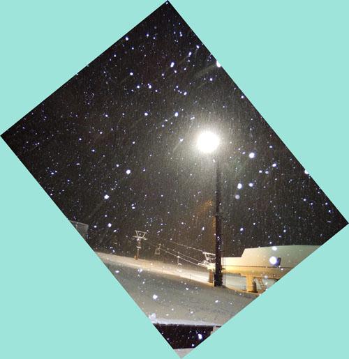 明日は・・・・親切新雪)