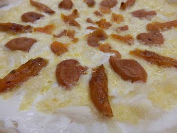 梅漬けピザ