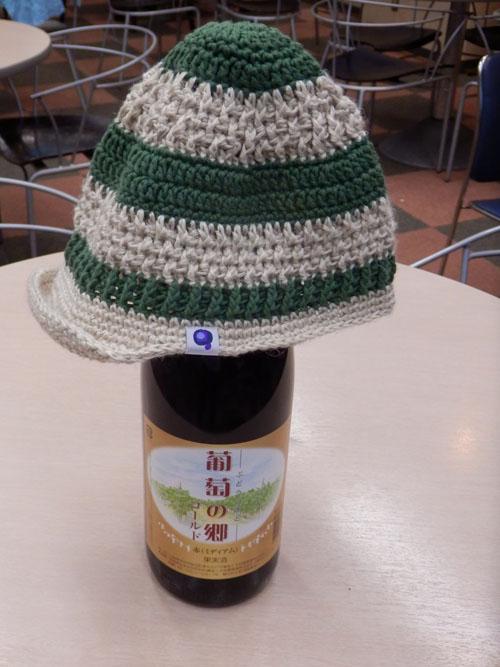 帽子と・・・