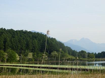 霊仙寺湖畔