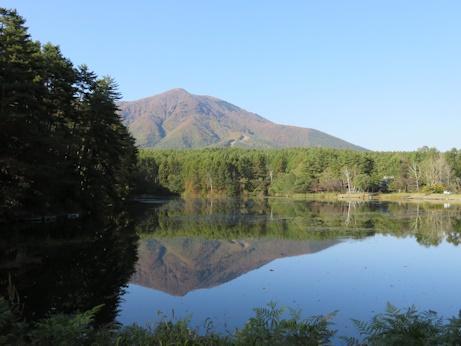 飯縄山・・・・飯綱湖