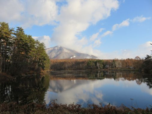 11月18日 飯綱湖