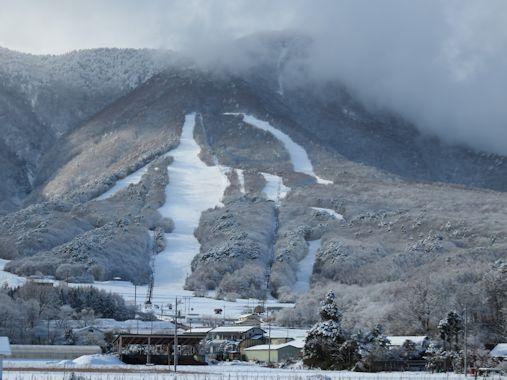 12月4日 いいづなリゾートスキー場