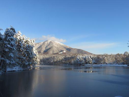 12月8日飯綱湖