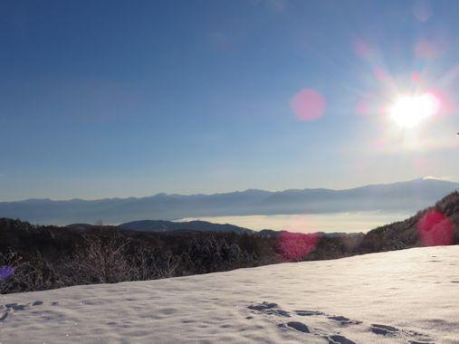12月8日飯綱山麓