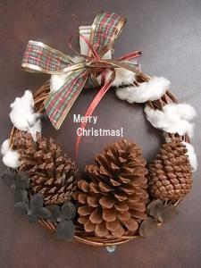 クリスマスリース2012