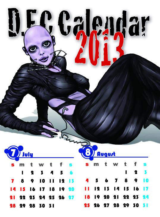 2013.カレンダー.7.8