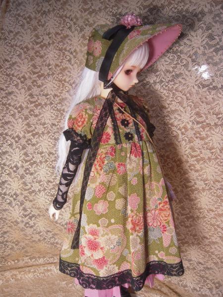 文化人形ドレス ママさん 2