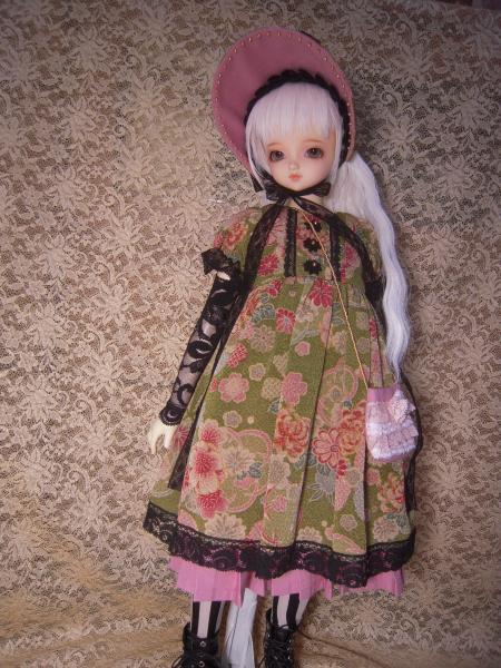 文化人形ドレス ママさん 1
