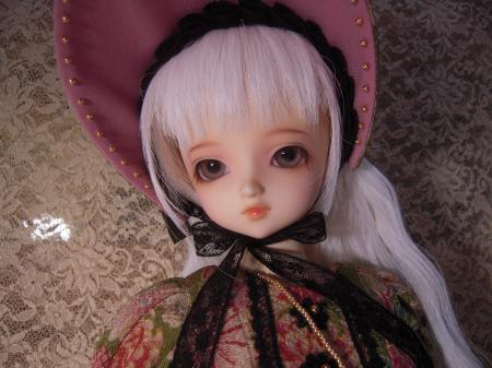 文化人形ドレス ママさん3
