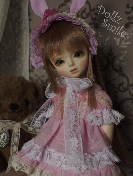 幼SD 子うさぎドレス ピンク 11