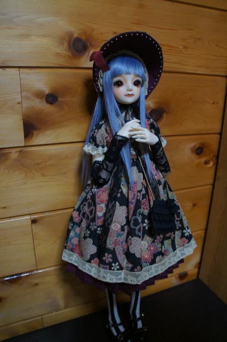 文化人形ドレス クルポンさん 2