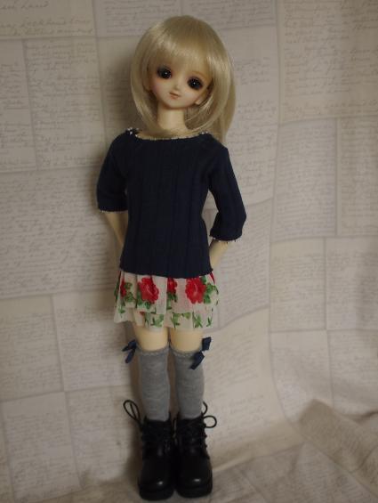 MSD Flower Mini (Navy) 1