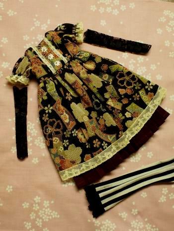 文化人形ドレス 1着目 1