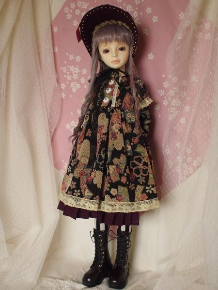 文化人形ドレス 1-1