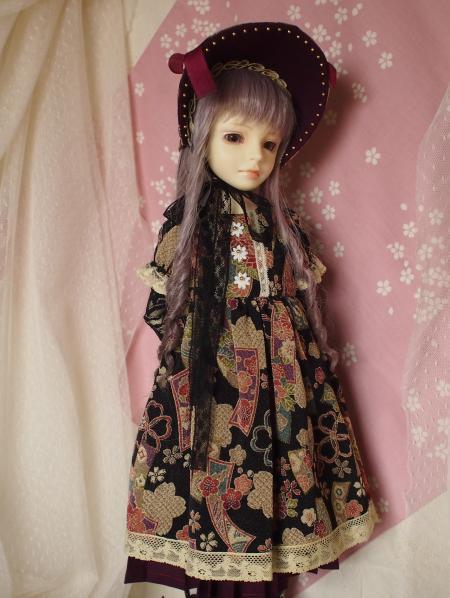 文化人形ドレス 1-2