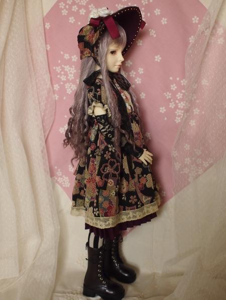 文化人形ドレス 1-3