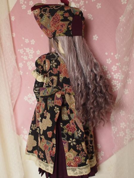 文化人形ドレス 1-5
