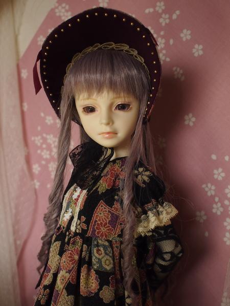 文化人形ドレス 1-6