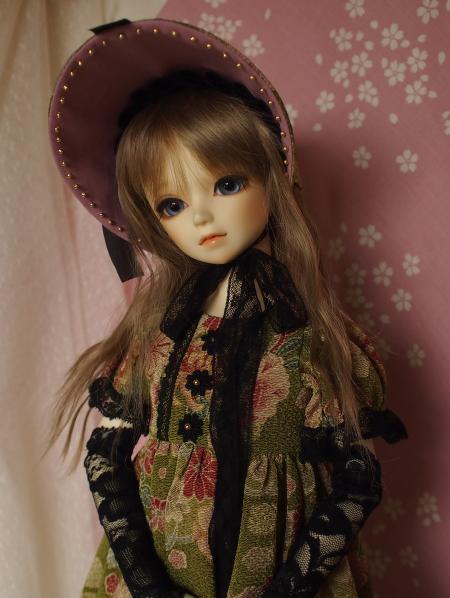 文化人形ドレス 2-3