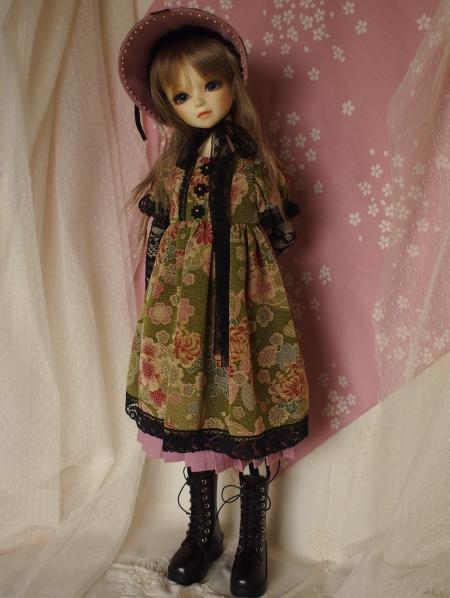 文化人形ドレス 2-4