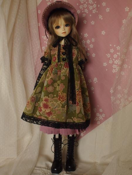 文化人形ドレス 2-5