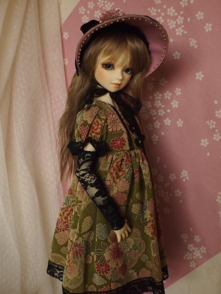 文化人形ドレス 2-7