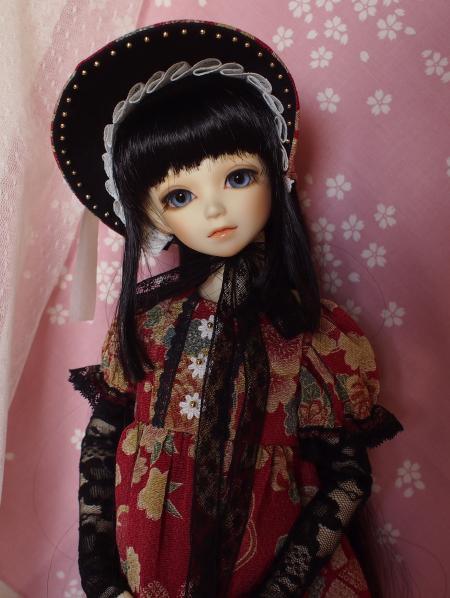 文化人形ドレス 3-2