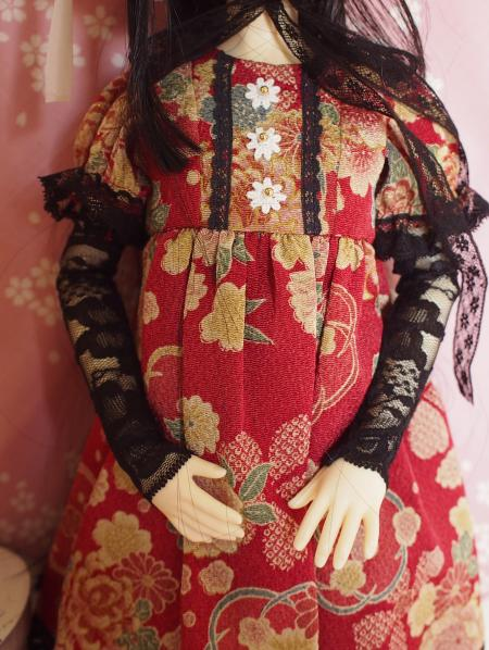 文化人形ドレス 3-3