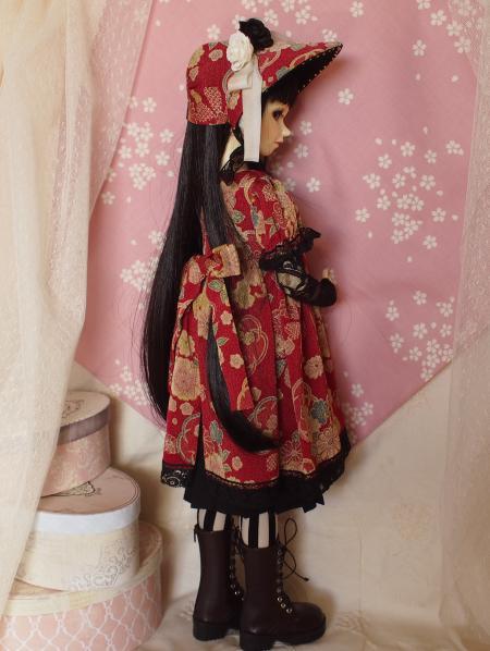文化人形ドレス 3-5