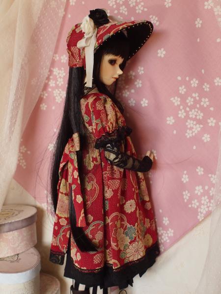 文化人形ドレス 3-6