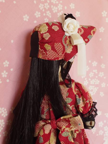 文化人形ドレス 3-7