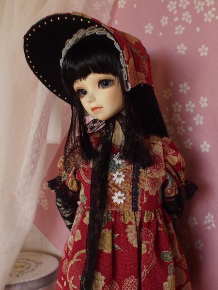 文化人形ドレス 3-9
