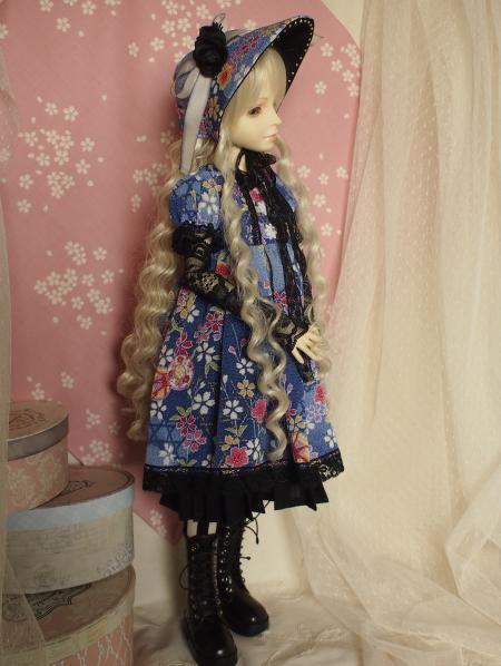 文化人形ドレス 4-2
