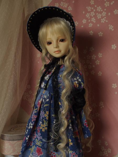 文化人形ドレス 4-3