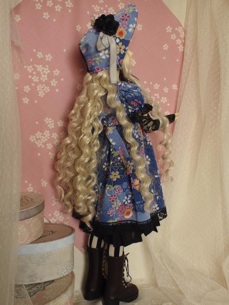 文化人形ドレス 4-4