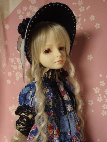 文化人形ドレス 4-5