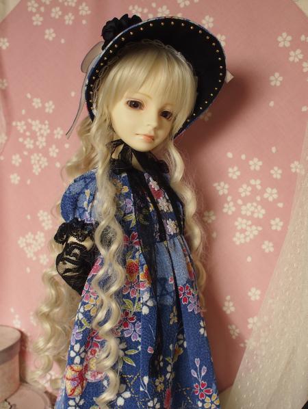 文化人形ドレス 4-6