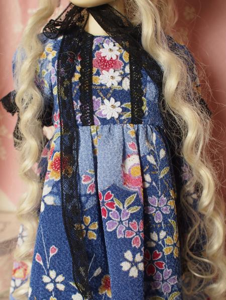 文化人形ドレス 4-7