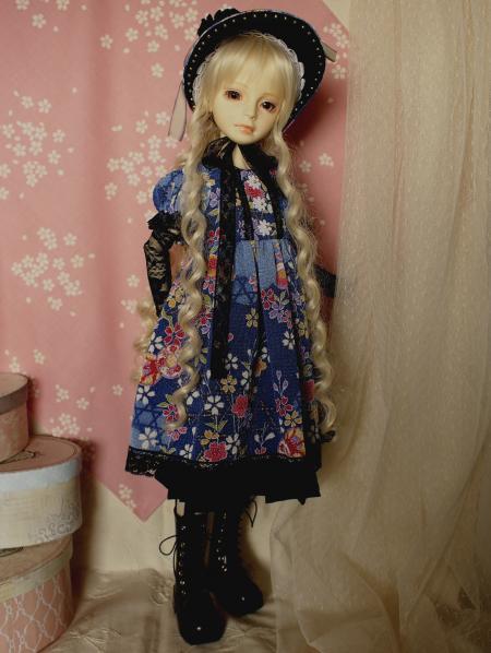 文化人形ドレス 4-1