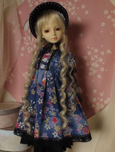 文化人形ドレス 4-8