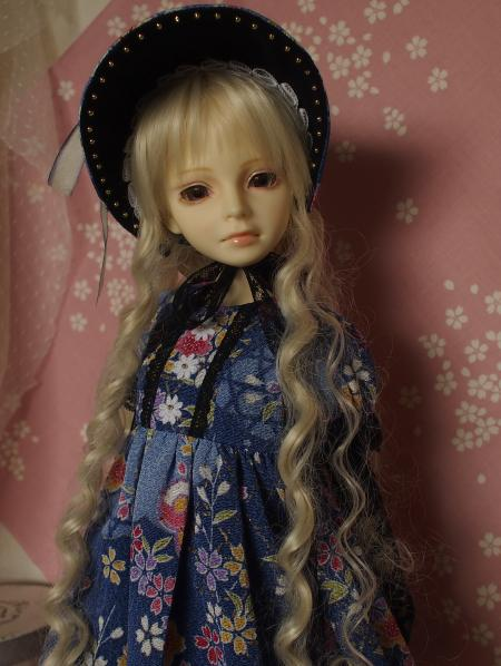 文化人形ドレス 4-9